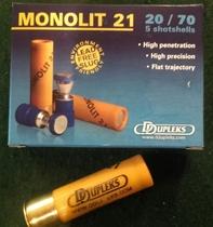 DDupleks Monolit21 21g Slug (5kpl rasia) 20/70