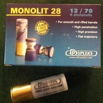 DDupleks Monolit28 28g Slug (5kpl rasia) 12/70
