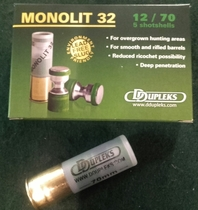 DDupleks Monolit32 32g Slug (5kpl rasia) 12/70