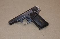 FN mod 1910, cal 7,65, lupavapaa deco-ase