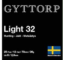 Gyttorp Light 12/70 32g  (25 kpl rasia)
