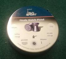 H&N SPORT Finale Match Pistol 4,50mm-.177 cal