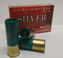 Lambro Silver Slug Brenneke 12/76 39g/601 gr (5 kpl rasia)