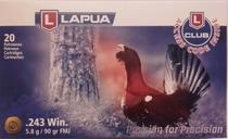 Lapua .243 WIN 5,8g/90gr FMJ