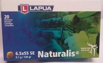 Lapua Naturalis N563 cal. 6,5x55 9,1g / 140gr 20kpl