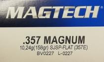 Magtech 357Mag SJSP-FLAT 10,24g/158gr (50kpl rasia)