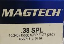 Magtech 38C 10,24g / 158gr(50kpl rasia)