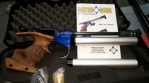 Matchguns MG H1, cal. 4,5 mm, ilmapistooli
