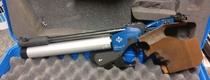 Matchguns MG1E, cal 4,5 mm, paineilmapistooli, sähkölaukaisulla