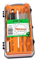 NITEforce Shiny .177cal (4.5mm) ja .22cal (5.5mm) kiväärin puhdistussarja