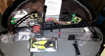 PSE Stringer-X CY, jousipaketti, ready to shoot