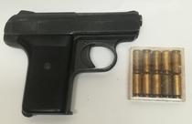 RECK  P6 kaasupistooli cal 8mm  TT=3