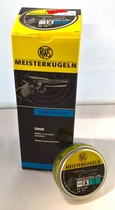 RWS Meisterkugeln 0,45g / 7,0gr ilmapistooliluoti
