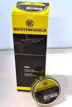 RWS Meisterkugeln 0,53g / 8,2 gr ilmakivääriluoti