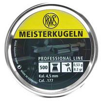 RWS Meisterkugeln 0,53g / 8,2gr ilmakivääriluoti