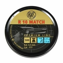 RWS R10 Match Premium Line 0,45g / 7,0gr ilmapistooliluoti