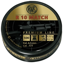 RWS R10 Match Premium Line 0,53g / 8,2gr ilmakivääriluoti