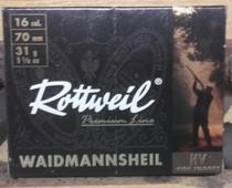 Rottweil 31g HV 3,2mm (10kpl rasia) 16/70
