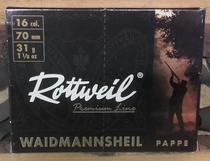 Rottweil 31g Pappe 3,5mm (10kpl rasia) 16/70