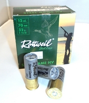 Rottweil Steel Game HV 32g 3,25mm #4 (25kpl rasia) 12/70