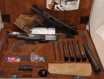 Sako Triace, cal 22 LR / 32 S&W tarkkuuspistooli, TT=3