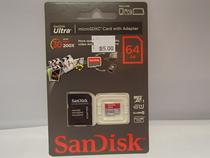 SanDisk Ultra microSDXC kortti ja adapteri