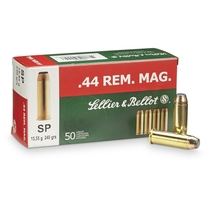 Sellier & Bellot .44 REM. Mag 15,55 g / 240grs