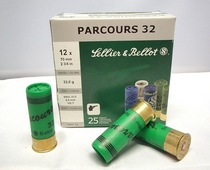 Sellier & Bellot Parcours 32g (25kpl rasia) 12/70