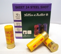 Sellier & Bellot Steel Skeet 24g 2,29 mm (25 kpl rasia) 12/67,5