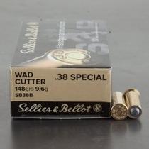 Sellier & Bellot WadCutter .38 Special 148gr/9,6g