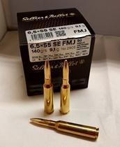 Sellier&Bellot 6,5x55 SE 9,1g 50kpl