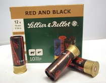 Sellier&Bellot Red and Black 12/70 (10 kpl rasia)