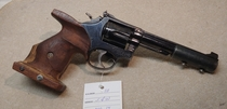 Smith & Wesson mod. 14, cal. 38 special, TT=2