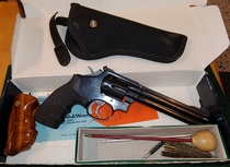 "Smith & Wesson mod. 17-6, cal 22 LR, 6"", TT=2"