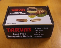 Tarvas Lead Free 9,3mm/ .366 250gr/ 16,2g 50kpl