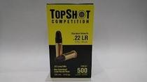 TopShot Competition .22LR Standard Velocity 2,6g, 500 ptr rasia