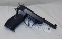 Walther P38, cal 22 LR, TT=3