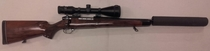 Weatherby Mark V cal. 340 TT=2