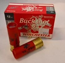 Winchester Buck Shot 9P 8,60mm #0 (10kpl rasia) 12/70