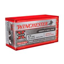 Winchester JHP 1,30g/20gr (50kpl rasia) .17 HMR