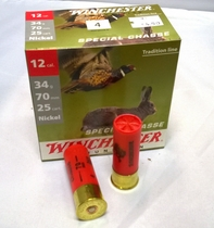 Winchester Special Chasse 34g 3,1mm #4 (25kpl rasia) 12/70