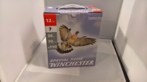 Winchester Special Pigeon 36g 2,5mm #7 (150kpl rasia) 12/70